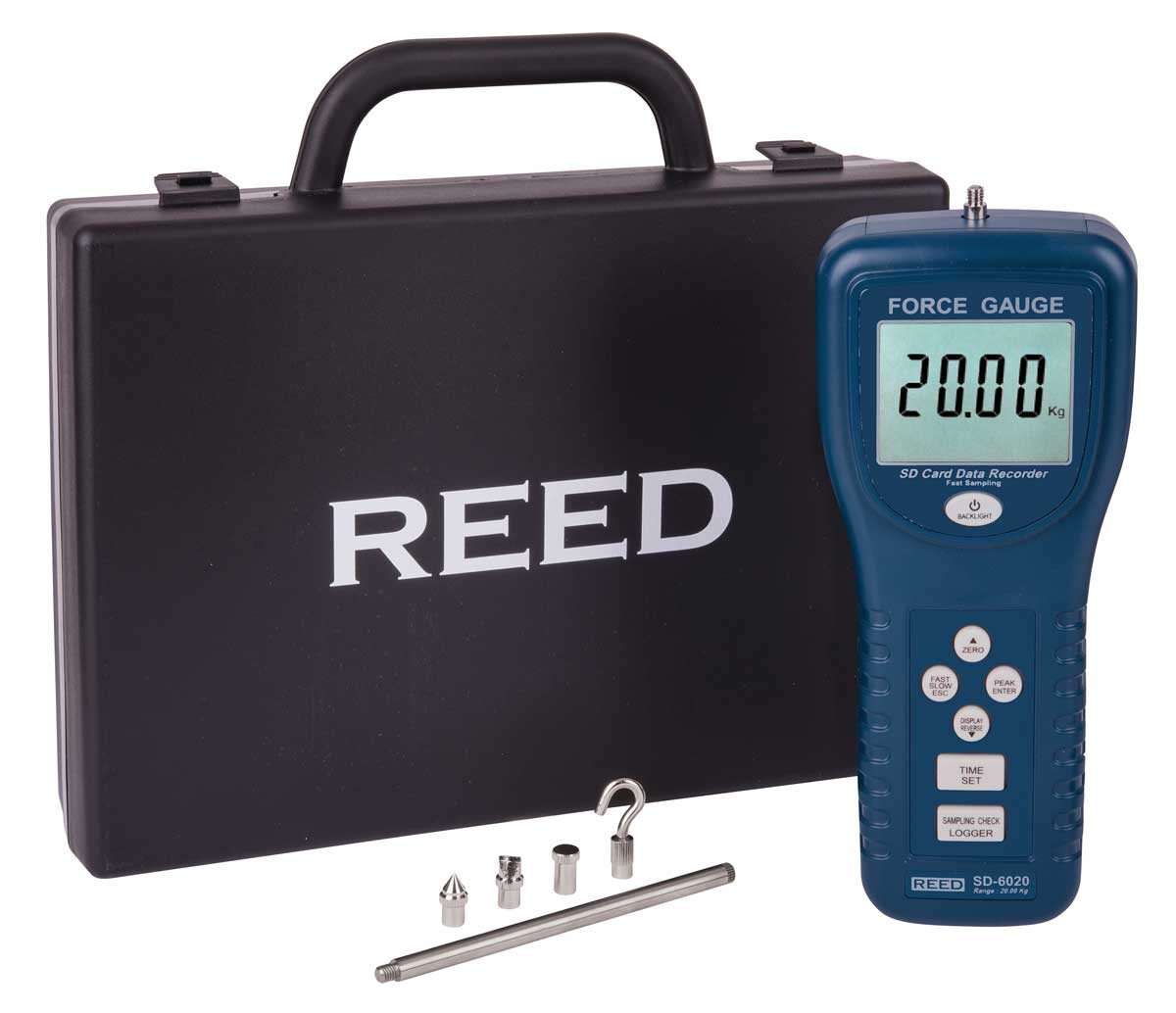 REED SD-6020 Data Logging Force Gauge, 44 lbs (20 kg)-REED SD-6020 4