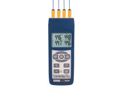 REED SD-947 SD Series Thermocouple Thermometer, Data logger, 4 Channel, Type K, J, R, S, E, T and RTD-REED SD-947 2