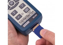 REED SD-947 SD Series Thermocouple Thermometer, Data logger, 4 Channel, Type K, J, R, S, E, T and RTD-REED SD-947 4