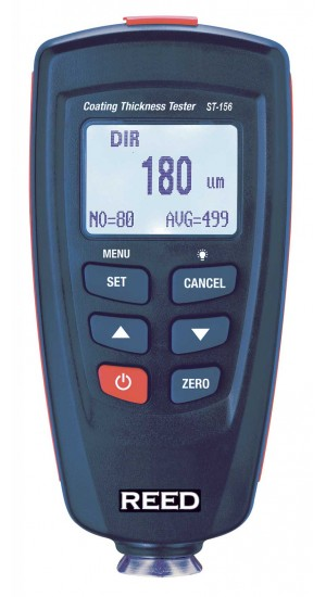 REED ST-156 Coating Thickness Gauge, 0-1250µm/0-50mils