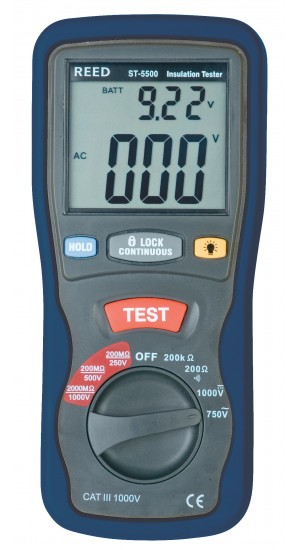 REED ST-5500 Insulation Tester-