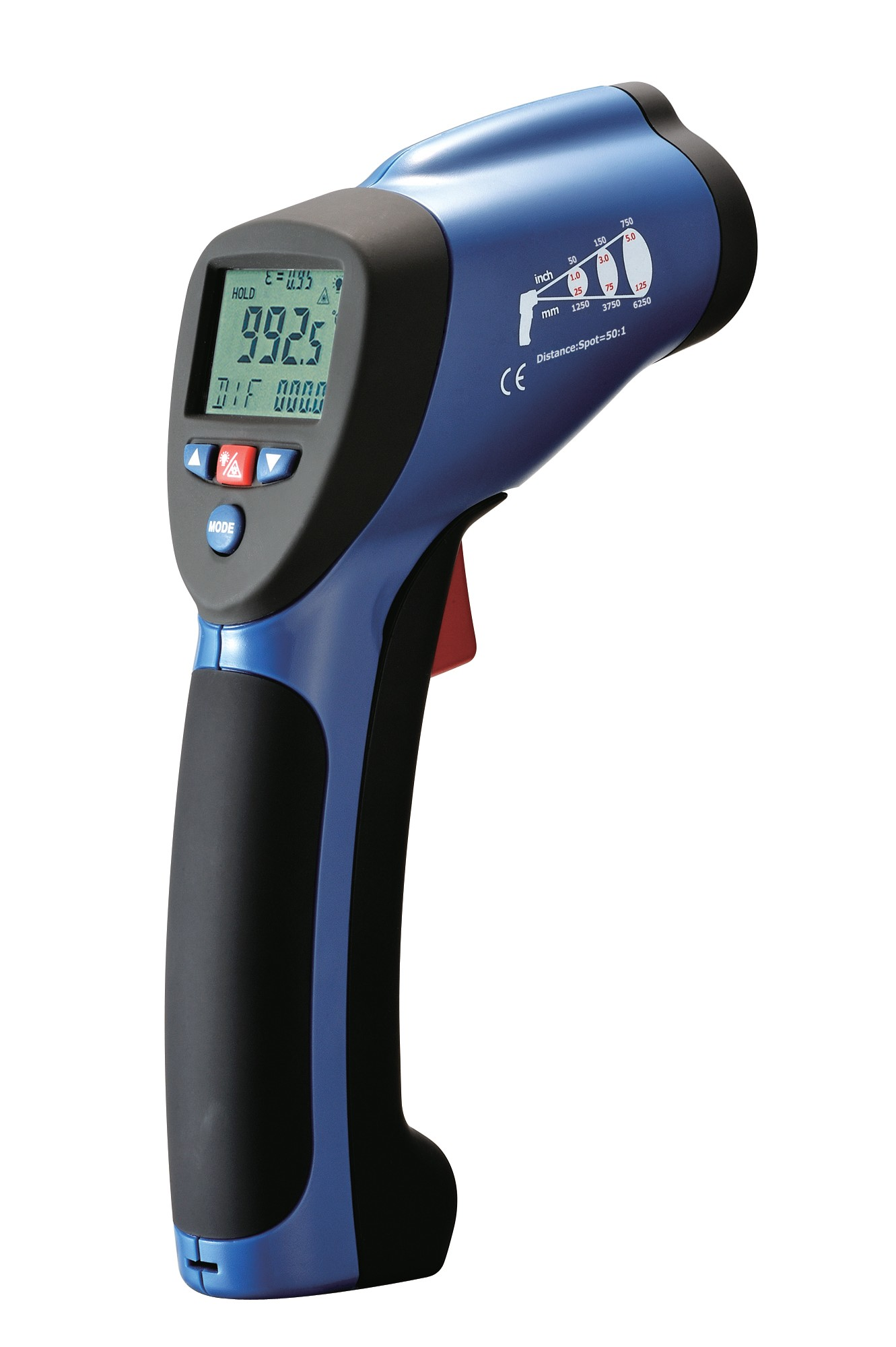 REED ST-8839 Infrared Thermometer, -50 to 1000°C (-58 to 1832°F)-