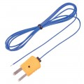 REED TP-01 Beaded Thermocouple Wire Probe, Type K, -40 to 482°F (-40 to 250°C)-