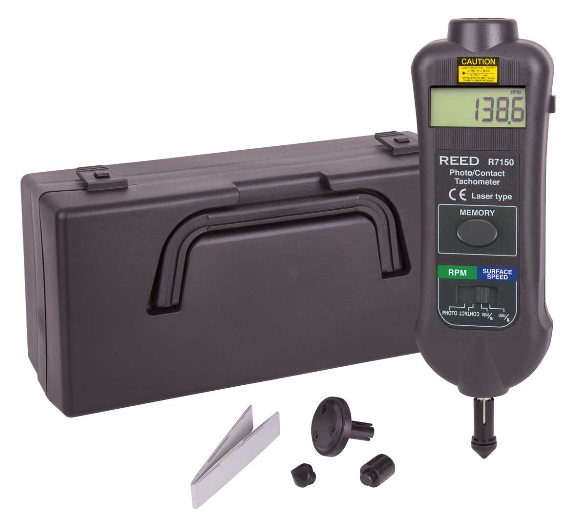 REED R7150 Professional Combination Contact / Non-Contact Laser