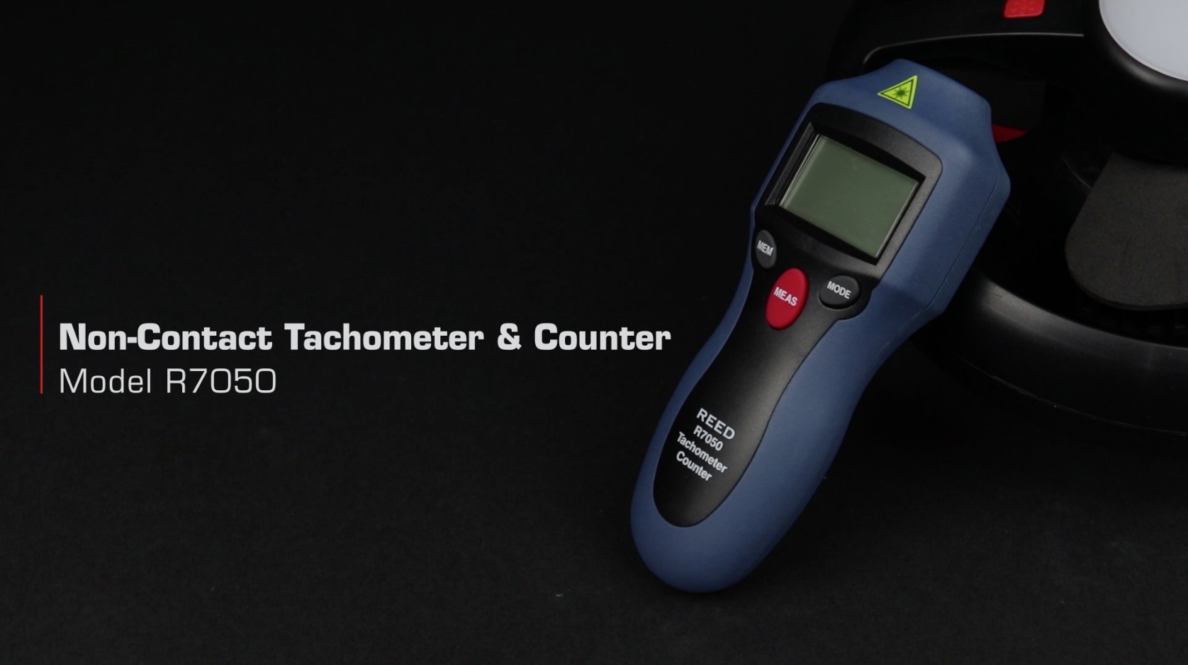 REED R7050 Compact Photo Tachometer and Counter