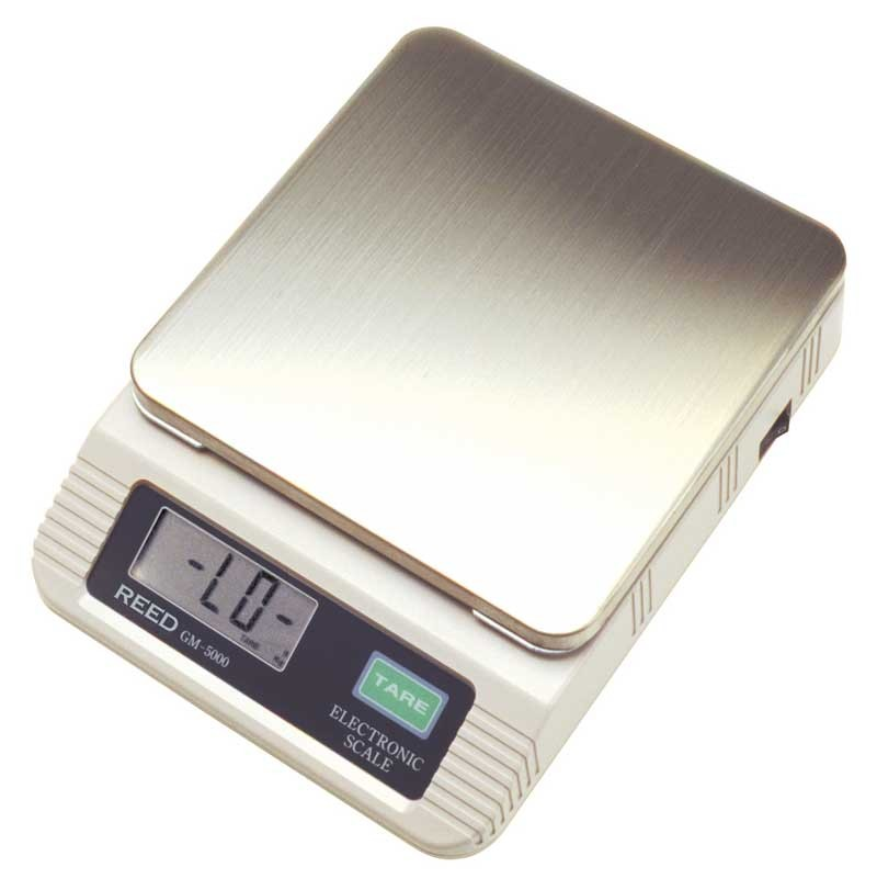 REED GM5000 Electronic Precision Scale, 176oz (5000g)-