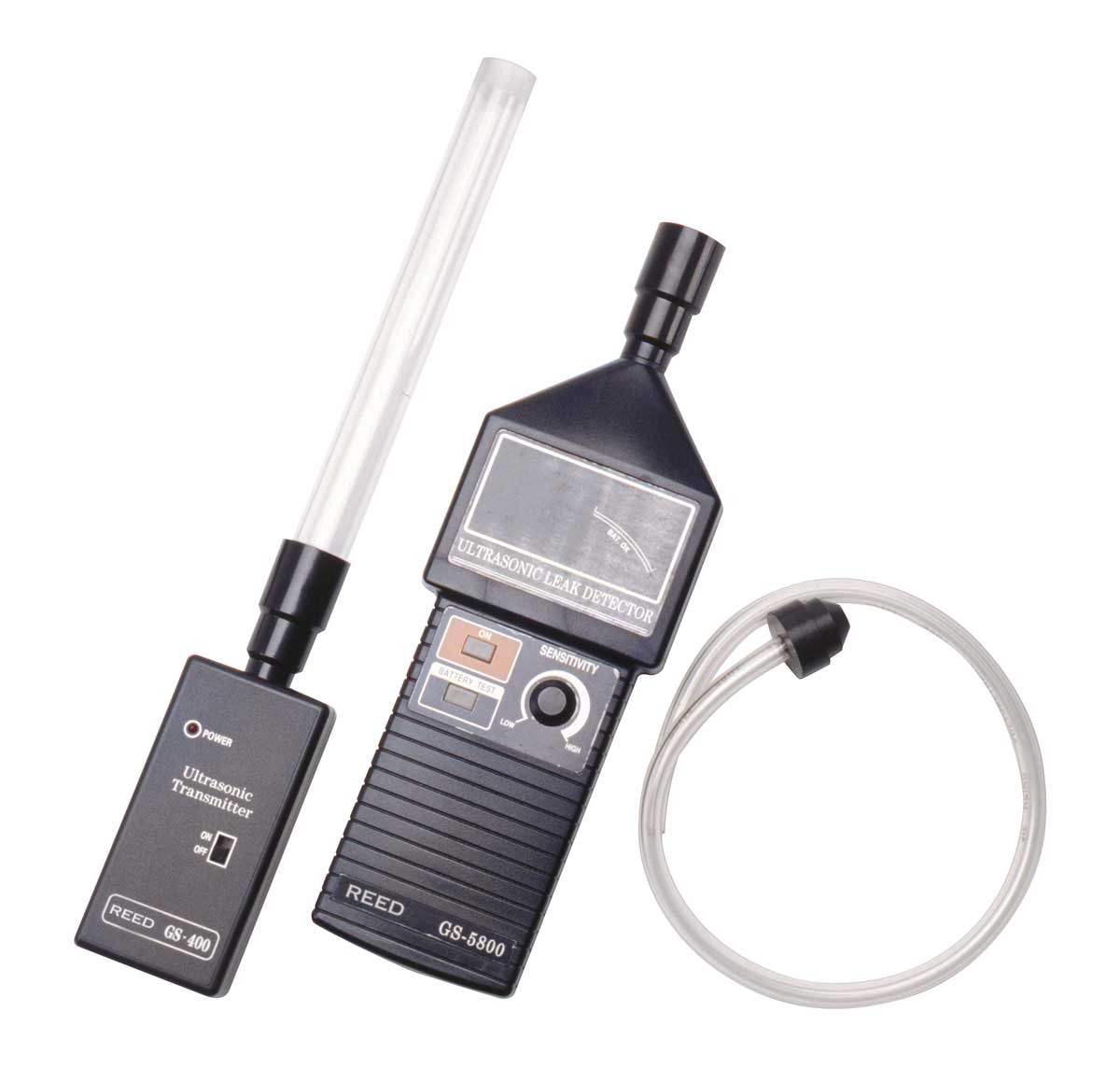 REED GS-5800 Ultrasonic Leak Detector-REED GS-5800 With Accessories