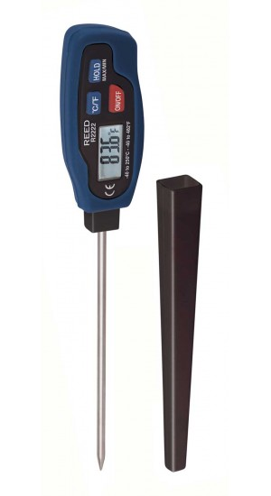 REED R2222 Stainless Steel Digital Stem Thermometer-