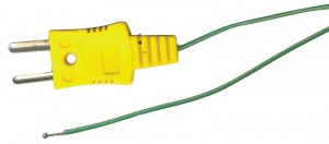 REED R2503 Beaded Thermocouple Wire Probe, Type K, -58 to 500°F (-50 to 260°C)-
