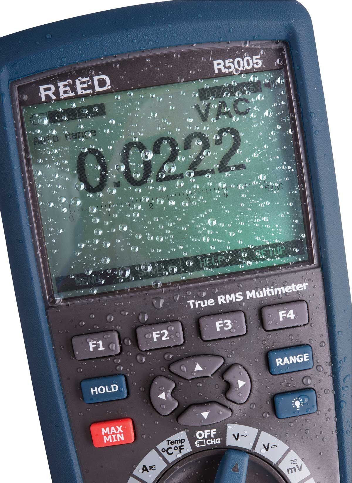 REED R5005 True RMS Industrial Multimeter with Bluetooth-REED R5005 3