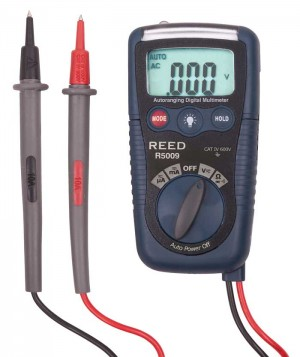 REED R5009 Compact Multimeter with NCV and Flashlight-