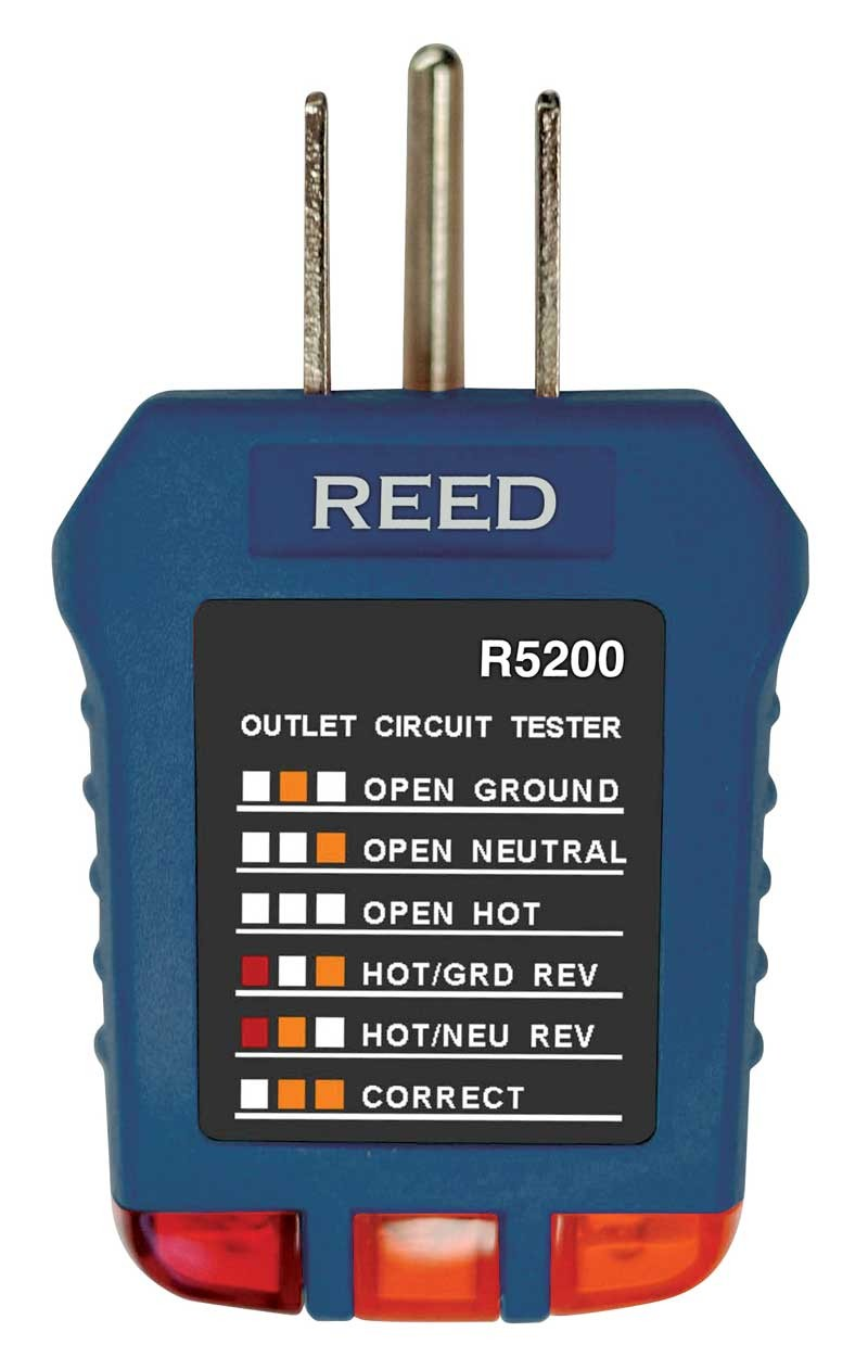 REED R5200 Receptacle Tester-