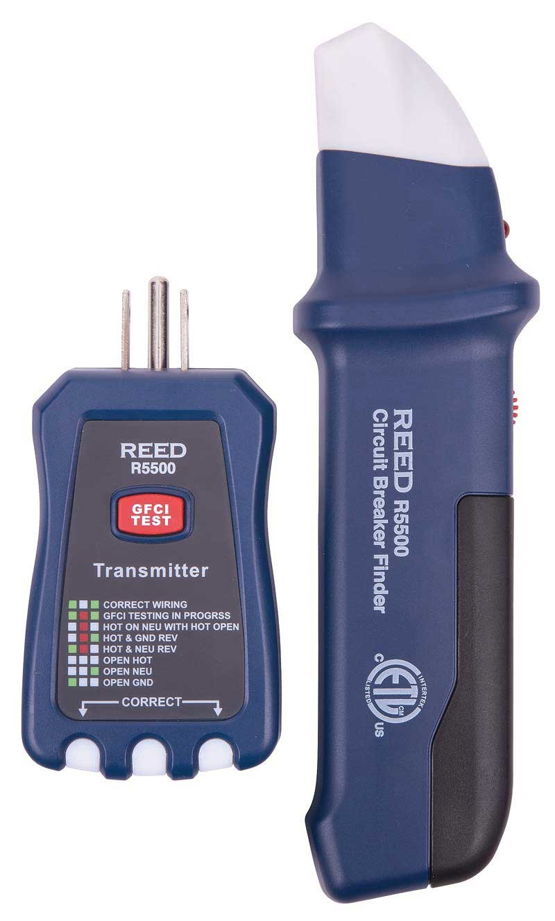 Reed R5500 Circuit Breaker Finder Gfci Vs
