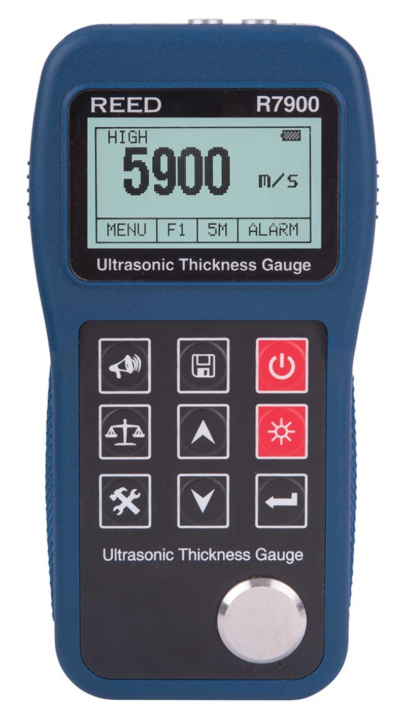 REED R7900 Ultrasonic Thickness Gauge-