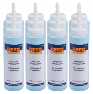 REED R7950/12 Ultrasonic Couplant Gel, pack of 12-