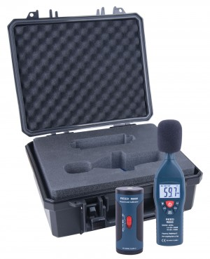 REED R8050-KIT Sound Level Meter and Calibrator Kit-
