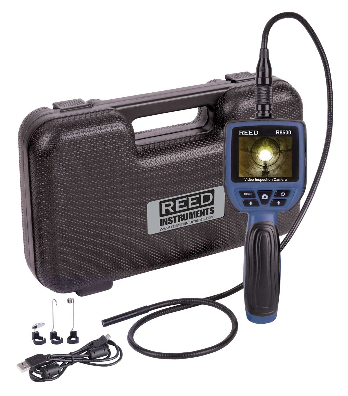 REED R8500 Recordable 9mm Video Inspection Camera-REED R8500 3