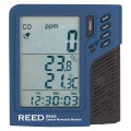 REED R9450 Carbon Monoxide Monitor with Temperature and Humidity-