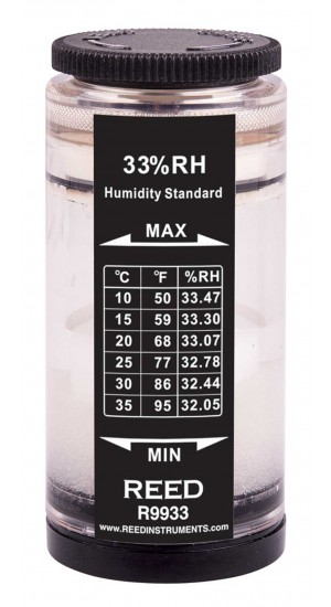REED R9933 Humidity Calibration Standard, 33%-