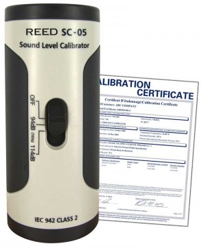 REED SC-05 Sound Calibrator,  -