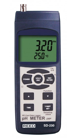 REED SD-230 Data Logging pH/ORP Meter-