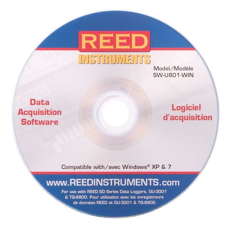 REED SW-U801-WIN Data Acquisition Software-